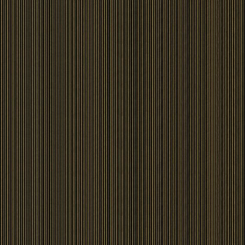 Versace Greek Vinyl Wallpaper Plain Black/Gold 93525-4
