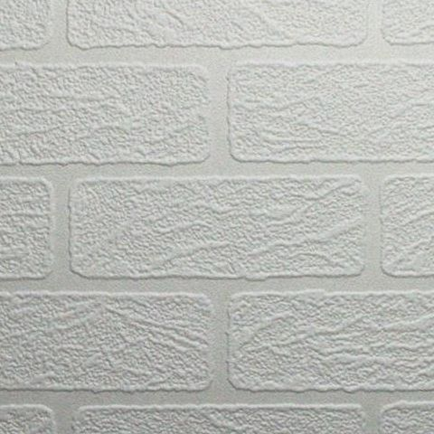 Super Fresco Paintable Wallpaper Brick 93744