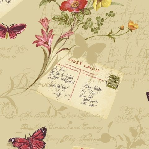 Arthouse Sophie Conran Wallpaper Postcards Home 950901 Antique