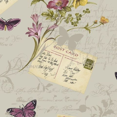 Arthouse Sophie Conran Wallpaper Postcards Home 950903 Parfait