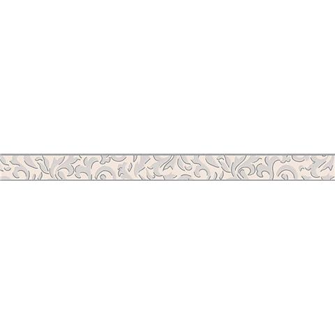 TEXTURED BORDER 96209-1 Grey/white