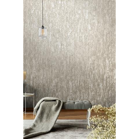 Holden Decor Enigma Industrial look Glassbead Wallpaper 99362 Taupe