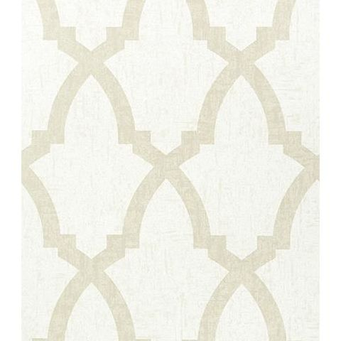 Anna French Seraphina Brock Trellis Wallpaper AT6017 Pearl