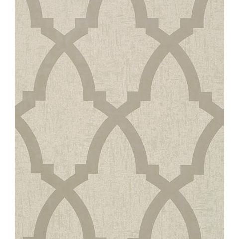 Anna French Seraphina Brock Trellis Wallpaper AT6018 Neutral