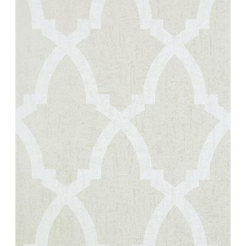 Anna French Seraphina Brock Trellis Wallpaper AT6019 Grey