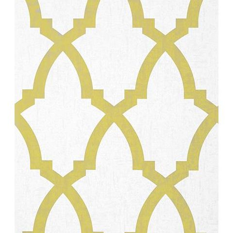 Anna French Seraphina Brock Trellis Wallpaper AT6020 Citron