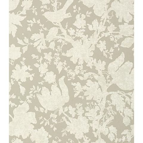 Anna French Seraphina Garden Silhouette Wallpaper AT6040 Neutral