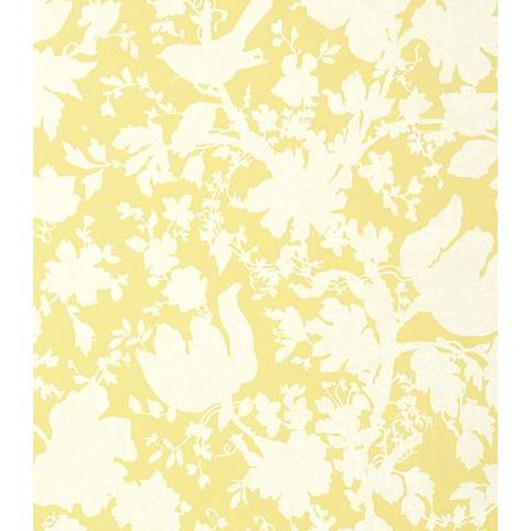 Anna French Seraphina Garden Silhouette Wallpaper AT6041 Citron
