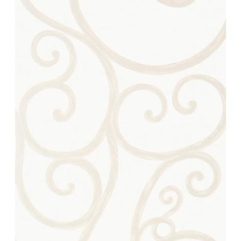 Anna French Seraphina Palace Gate Scroll Wallpaper AT6049 Pearl