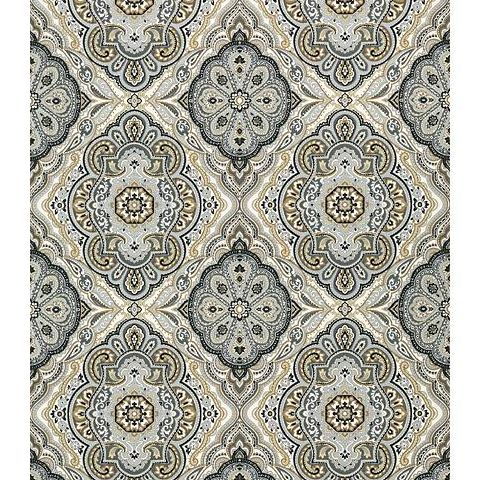 Anna French Serenade Stirling Wallpaper AT6145 Charcoal and Linen