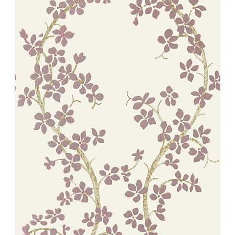 Anna French Serenade St Albans Grove Wallpaper AT6155 Pink on Ivory