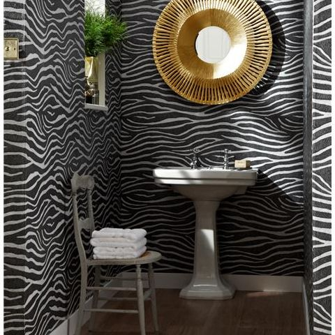 Arthouse Imagine Tropics Wallpaper Serengeti Black