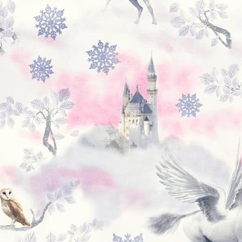 Arthouse Imagine Fairytale Unicorns Wallpaper 667801 Lilac/Pink