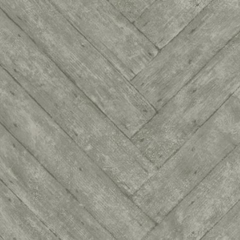 Andrew Martin, Attic Wallpaper Parquet Charcoal