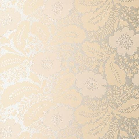 Anna French Wild Flora Ash Wallpaper-Fawn