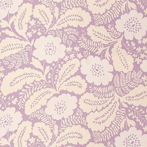 Anna French Wild Flora Ash Wallpaper-Lavender
