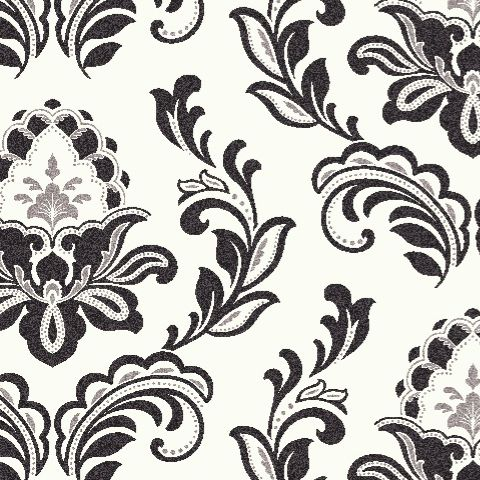 Arthouse Bijoux Wallpaper Black + White