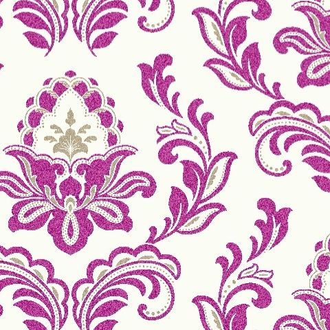 Arthouse Bijoux Wallpaper Plum