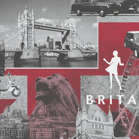 City Scape Wallpaper-Britannia 102509