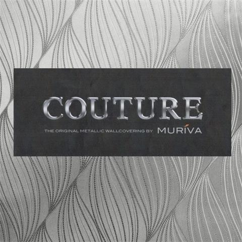 MURIVA COUTURE  the original metallic wallcovering