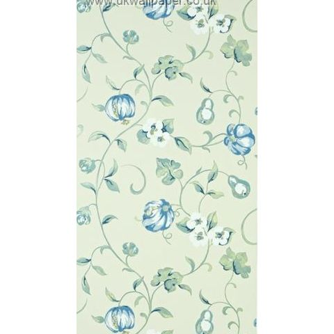 Sanderson A Painters Garden Wallpaper Pear and Pomegranate 101