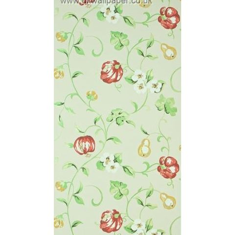 Sanderson A Painters Garden Wallpaper Pear and Pomegranate 105