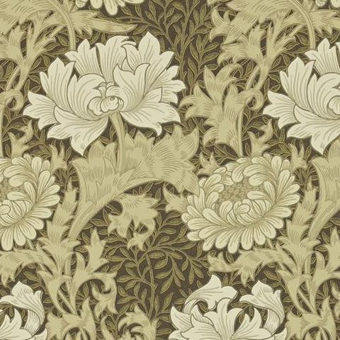 Morris & Co Wallpaper-Chrsyanthemum 212547 Bullrush