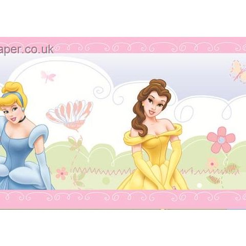 Disney Princess Castle Border 42213
