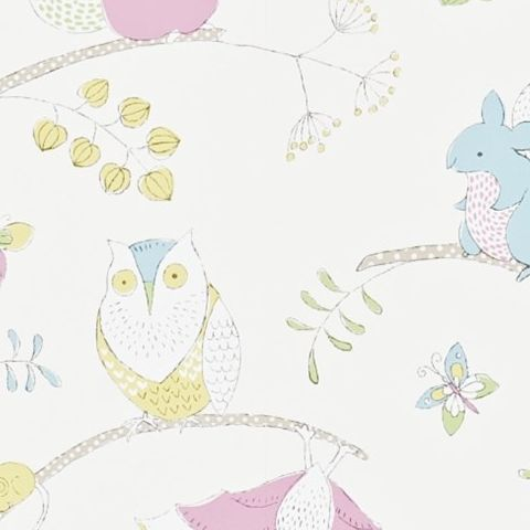 Little Sanderson Abracazoo Wallpaper-Going Batty 214017