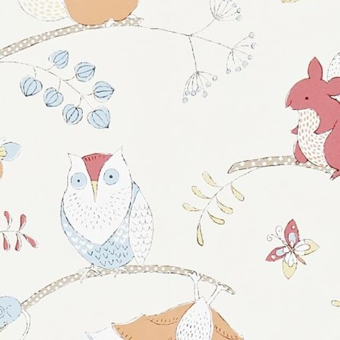 Little Sanderson Abracazoo Wallpaper-Going Batty 214018