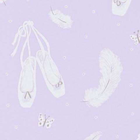 Little Sanderson Abracazoo Wallpaper-Ballet Shoes 214019