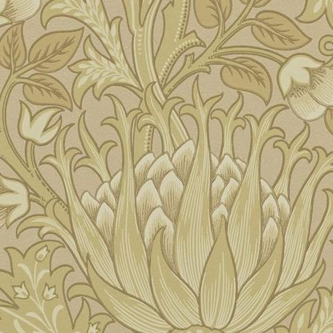 Morris & Co Wallpaper-Artichoke 210354 Loam