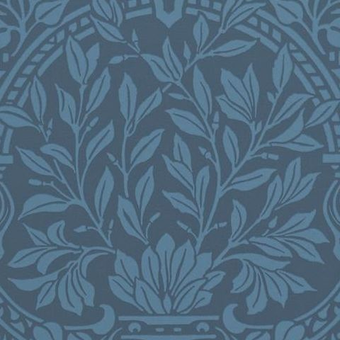 Morris & Co Wallpaper-Garden Craft 210357 Ink