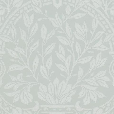 Morris & Co Wallpaper-Garden Craft 210358 Duck Egg