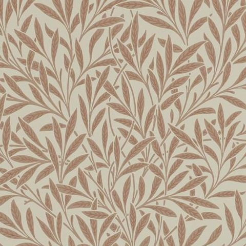 Morris & Co Wallpaper-Willow 210381 Russet