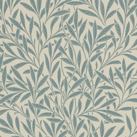 Morris & Co Wallpaper-Willow 210382 Slate