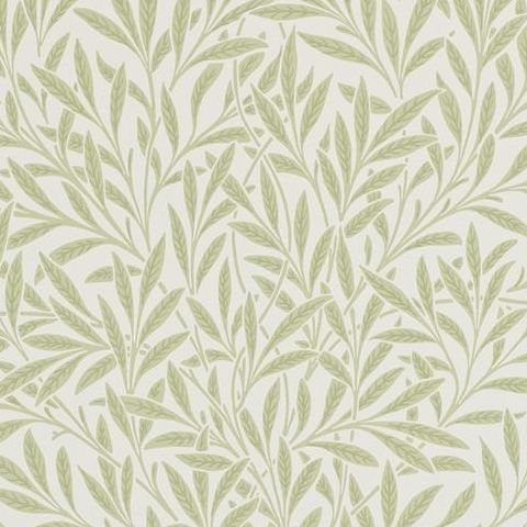 Morris & Co Wallpaper-Willow 210383 Olive