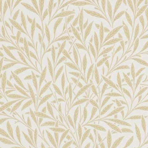 Morris & Co Wallpaper-Willow 210385 Buff