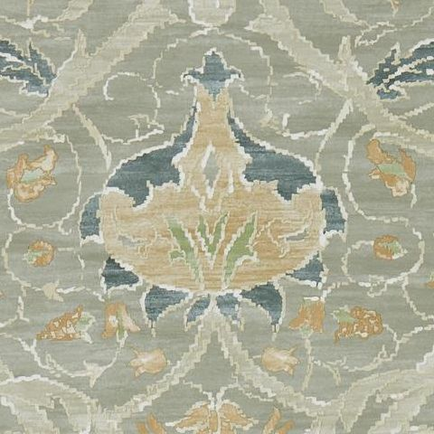 Morris & Co Wallpaper-Montreal 216433 Grey/Charcoal