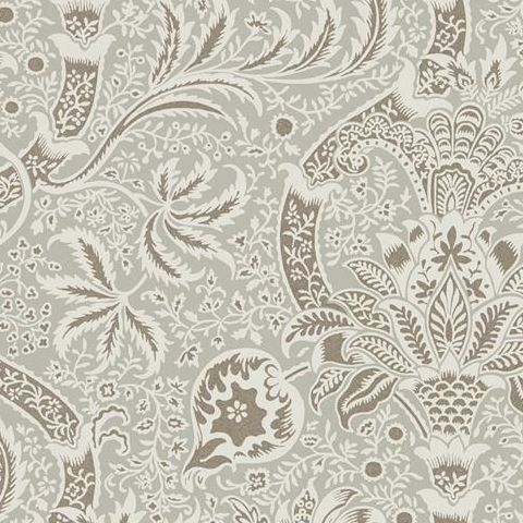 Morris & Co Wallpaper-Indian 216444 Grey/Pewter