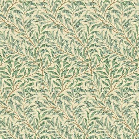 Morris & Co Wallpaper-Willow Bough Minor 210489 Green