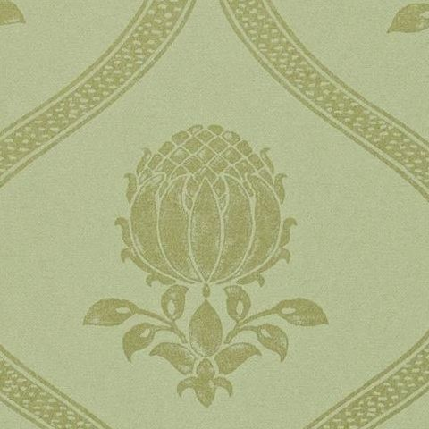 Morris & Co Wallpaper-Granada 210433 Eggshell/Gold