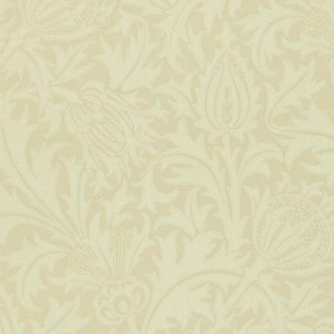 Morris & Co Wallpaper-Thistle 210485 Ivory