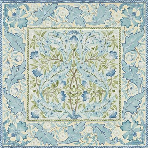 Morris & Co Melsetter Wallpaper wilhelmina 216671 indigo