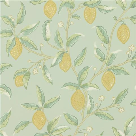 Morris & Co Melsetter Wallpaper lemon tree 216673 sage