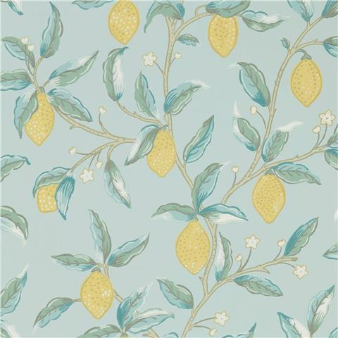 Morris & Co Melsetter Wallpaper lemon tree 216674 wedgewood