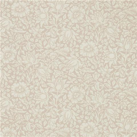 Morris & Co Melsetter Wallpaper mallow 216675 dusky rose