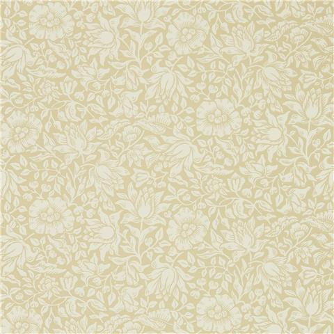 Morris & Co Melsetter Wallpaper mallow 216677 soft gold