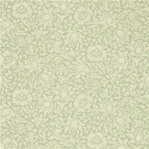 Morris & Co Melsetter Wallpaper mallow 216678 apple green