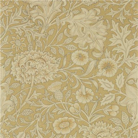Morris & Co Melsetter Wallpaper Double Bough 216681 antique gold